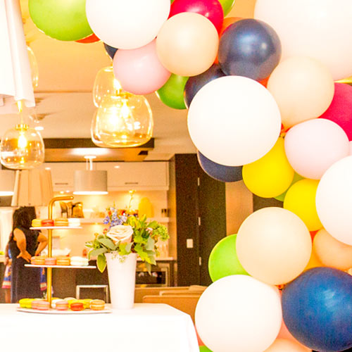 First Birthday Decorations With Balloons